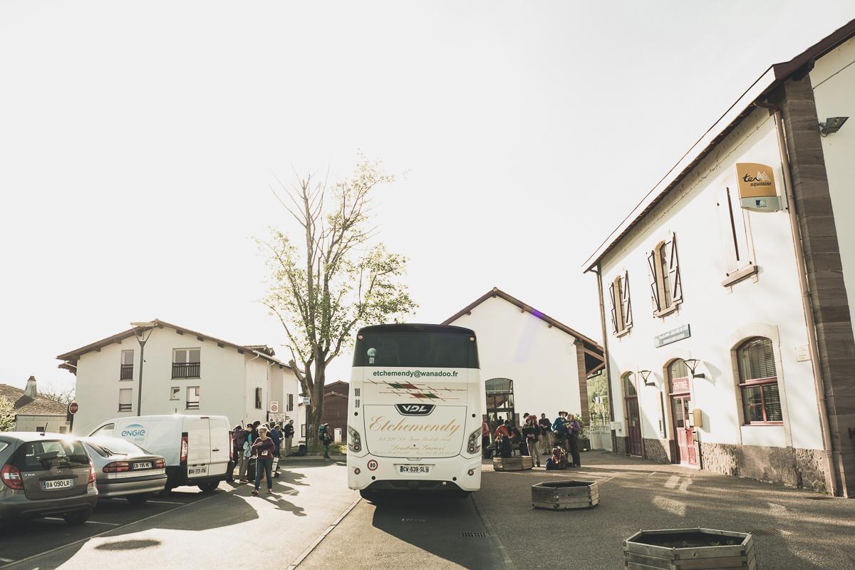 Bus in Saint-Jean-Pied-de-Port