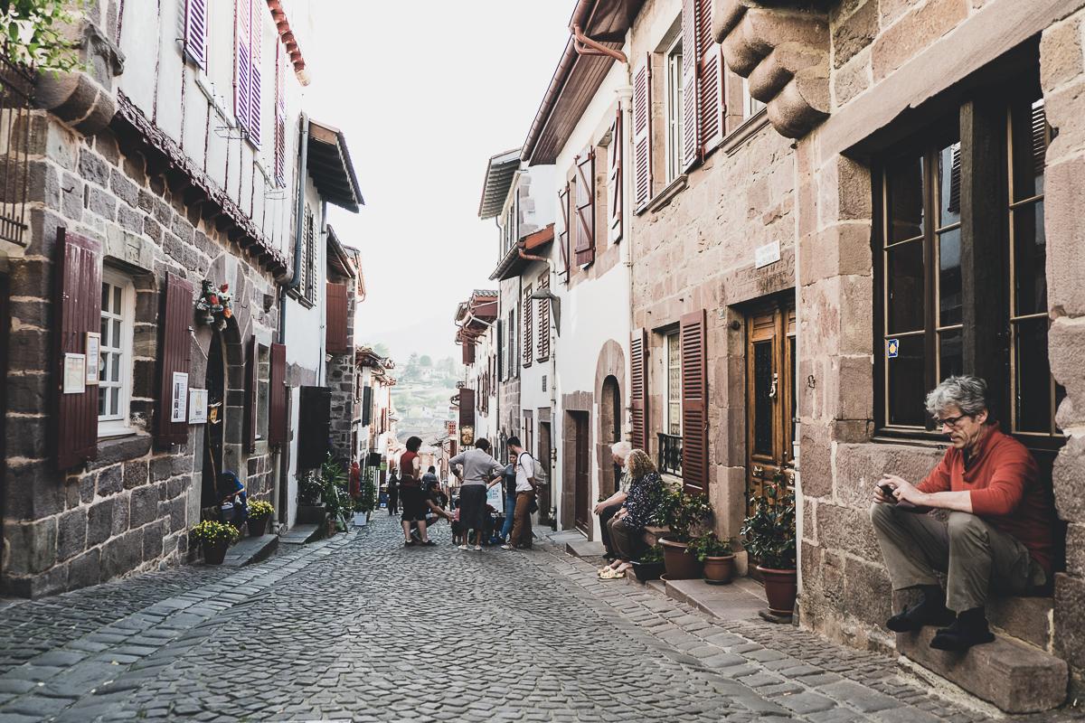 Street in Saint-Jean-Pied-de-Port